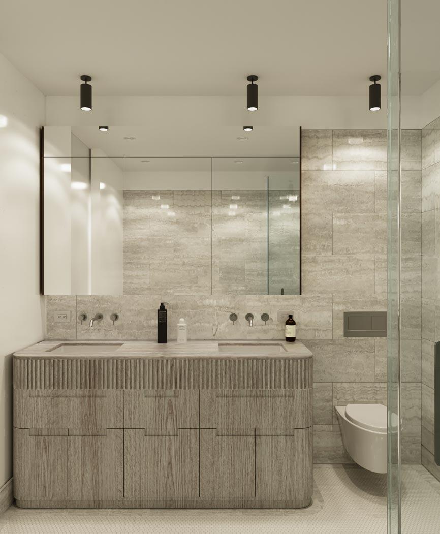 Mixed Use Building, Williamsburg, NY, USA, Veronica Mishaan
