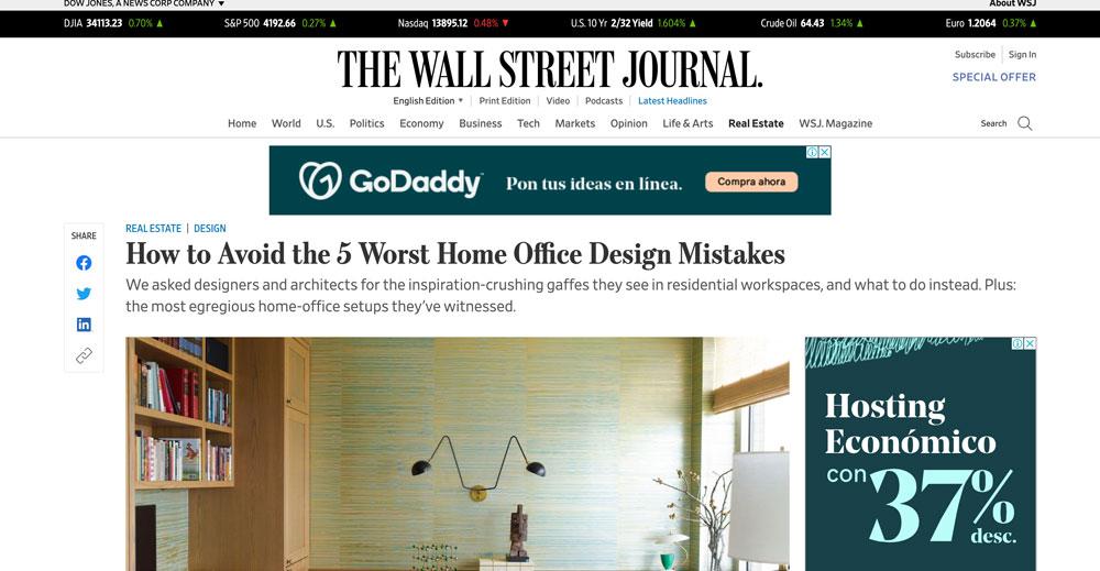 Wall Street Journal, Veronica Mishaan