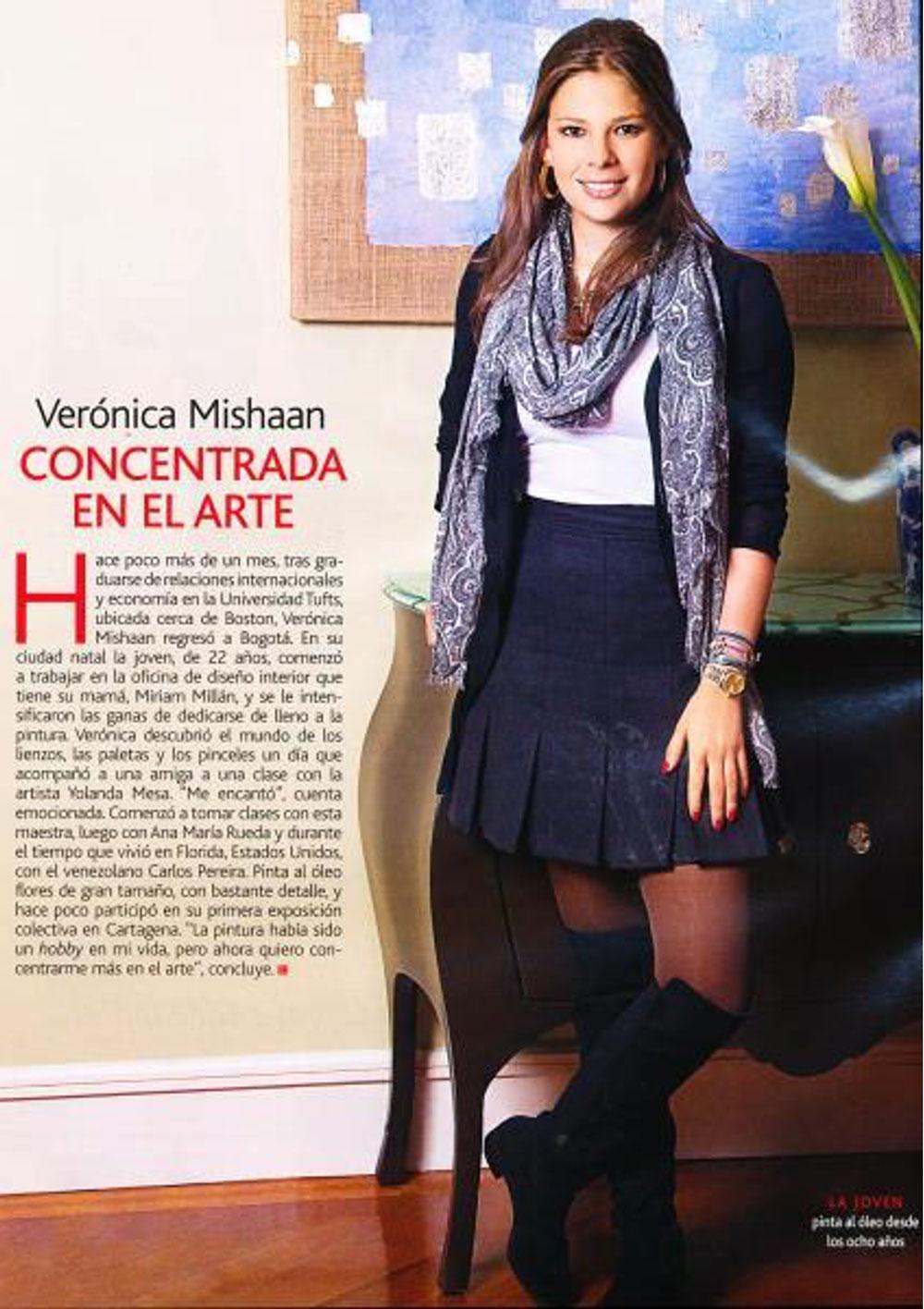 Caras, Veronica Mishaan