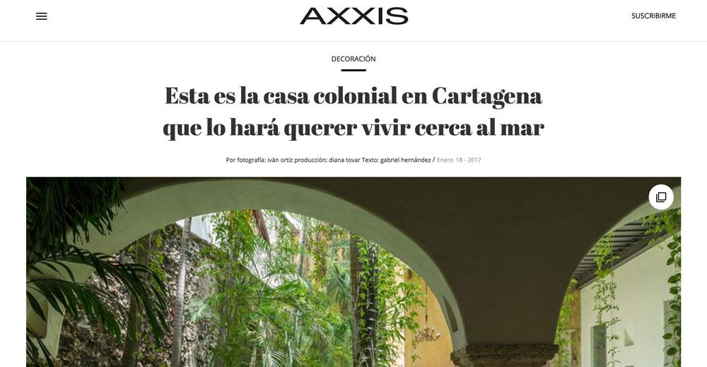 AXXIS, Veronica Mishaan